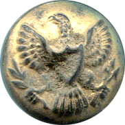 Small Gilt Eagle Button